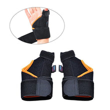 Pair of Thumb Spica Splint Support Wrist Strap to Relieve Pains