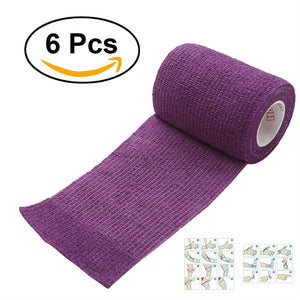 Self Adherent Cohesive Wrap Bandages for Athletic Sport