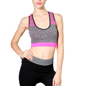 High Intensity Sports Bra Vest Stretchy at Rebate Price