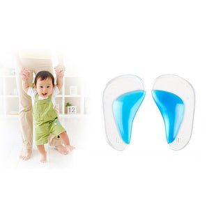 1 Pair Flat Foot Insoles Infants Correct Insoles After Evaginate Correction Tool