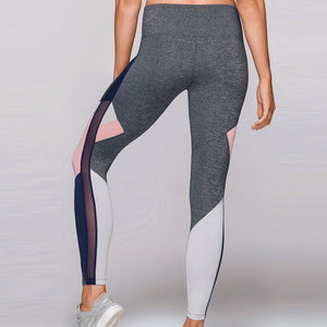 Elastic Women Sports Yoga Mid Waist Leggings