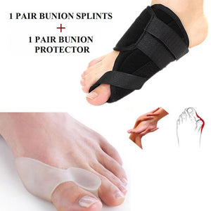 2 Pairs Bunion Pad Hallux Valgus Toe Protector Corrector Splint Pain Relief Foot Care