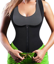 Topmelon Waist Trainer Corset For Weight Loss Lumbar Back SUPPORTS Vest With Zip & Hook