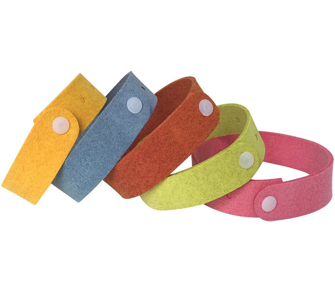 Mosquito Repellent Non-Toxic Bracelets for Protection