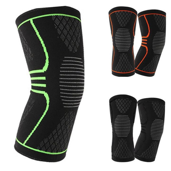 Knee Support Braces | Elastic Sports Knee Pad Sleeve for Basketball, Volleyball, Fitness, Running, Cycling