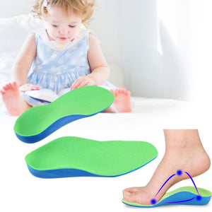 Orthopedic Insoles for Children With Flat Foot,  Arch Correction Pads