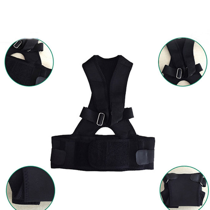 Buy Back and Shoulder Brace Posture Corrector Adjustable Size