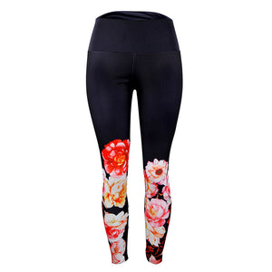 Women Print Sports Gym Yoga Running Fitness Leggings Pants Athletic Trouser