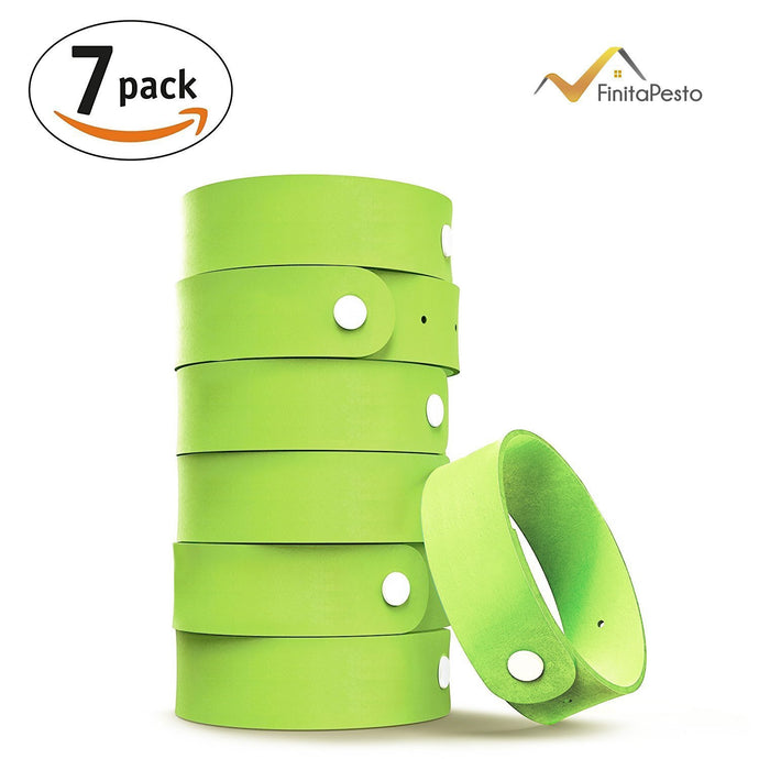 Natural Mosquito Repellent Bracelet 6 Pack Safe for Kids