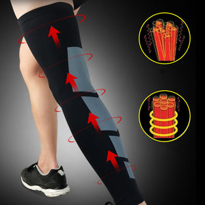 Long Leg Knee Sleeves Protector for Basketball