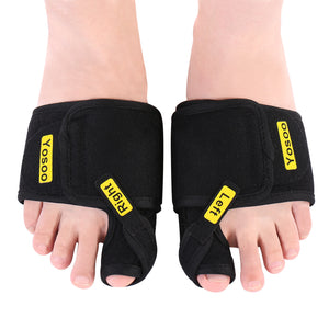 Adjustable Bunion Correctors and Soft Toe Brace Pad