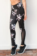 Stylish Legging with Mesh Insert