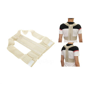 1PCS Magic Stick Hemp Posture Corrector Belt Elasticity Redress Beauty Body Back Brace & Supports Belt For Men Women
