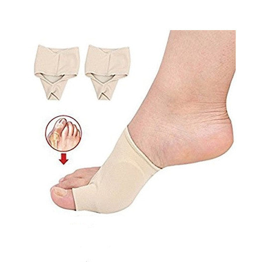 2 Pcs Bunion Corrector Gel Pad Stretch Nylon Hallux Valgus Protector Guard Toe Separator Orthopedic Supplies