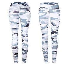 Women Workout Leggings  Sporter Skinny Camouflage Women Yoga Leggings Fitness Sporting Leggings