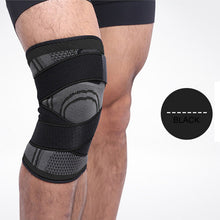 Knee Sleeve Pressurized Fitness Running Cycling Bandage Leg Protector Pad Elastic Nylon Sports Compression Knee Cap