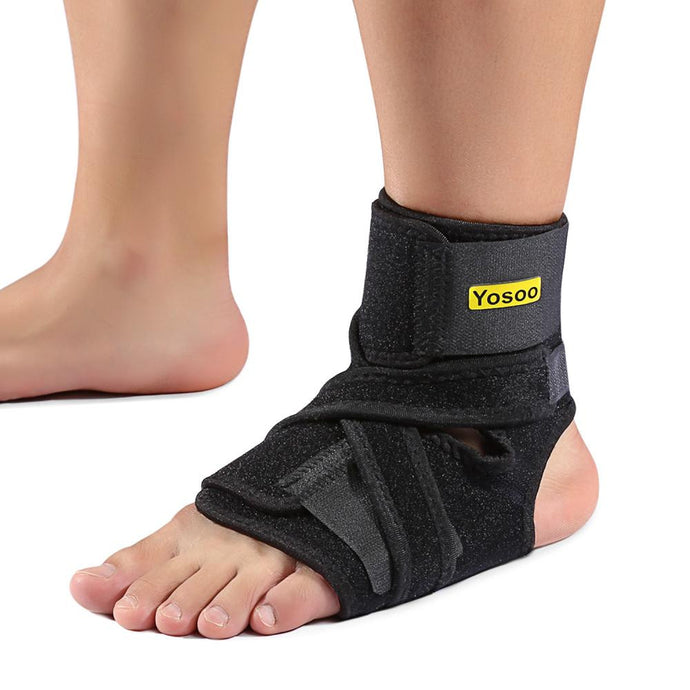 Foot Drop Orthosis Corrector Brace Ankle Support Plantar Fasciitis Ankle Strap