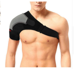 Shoulder protection type, adjustable shoulder strap and shoulder protection.