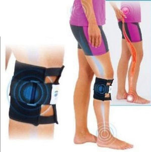 BeActive Knee protector New Therapeutic Beactive Brace Points Pad Black Leg Presssure Brace Acupressure Sciatic Nerve