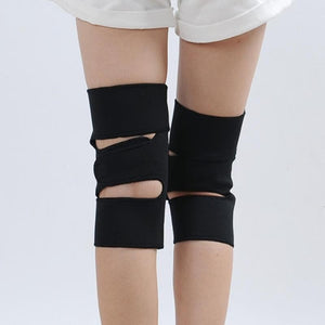 1 pair Hot Tourmaline Self Heating Knee Pad Magnetic Therapy Knee Support Belt Brace