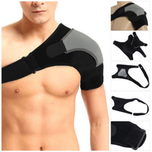 Adjustable Shoulder Support Strap Neoprene Pain Injury Arthritis Gym Sport