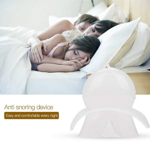 Medical Silicone Anti Snoring Tongue Retaining Device Snore Solution Aid Sleeve Sleep Breathing Apnea Night Guard