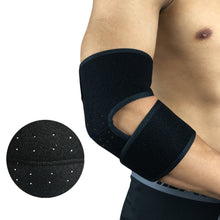 Elbow Support, Reversible Stabilizer, Adjustable Brace, Neoprene Sleeve – Arthritic Pain Relief, Sports Injury Rehabilitation & Protection against Re-injury, Black