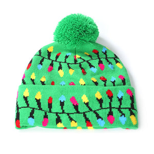 NEW! LED Light Up Knit Winter Cap (FREE SHIPPING!)