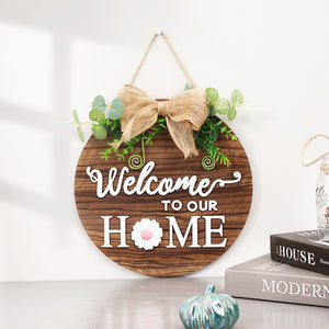 NEW!! Outdoor All Seasons Welcome Sign (FREE SHIPPING!!)