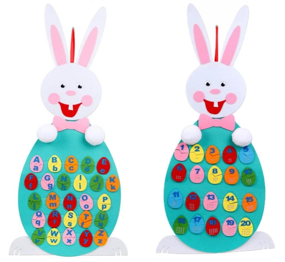 Beatrice the Felt Easter Bunny (FREE SHIPPING!)