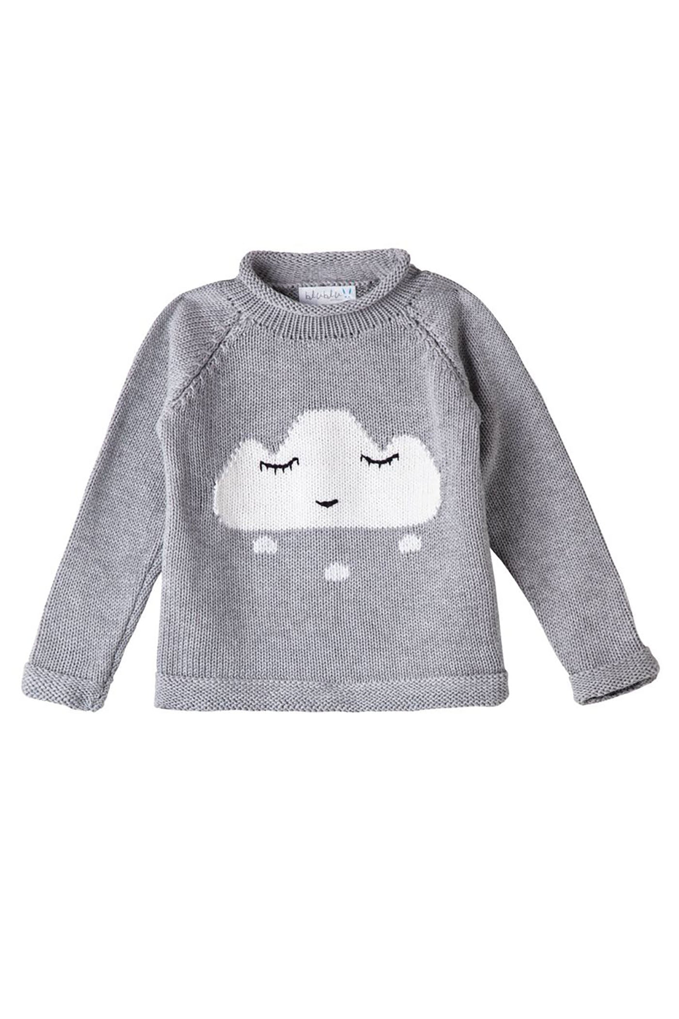 Smiley Cloud Sweater Julimoon