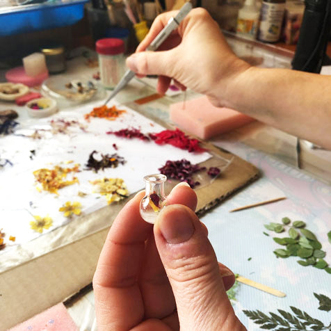 How we create our handmade jewelry.