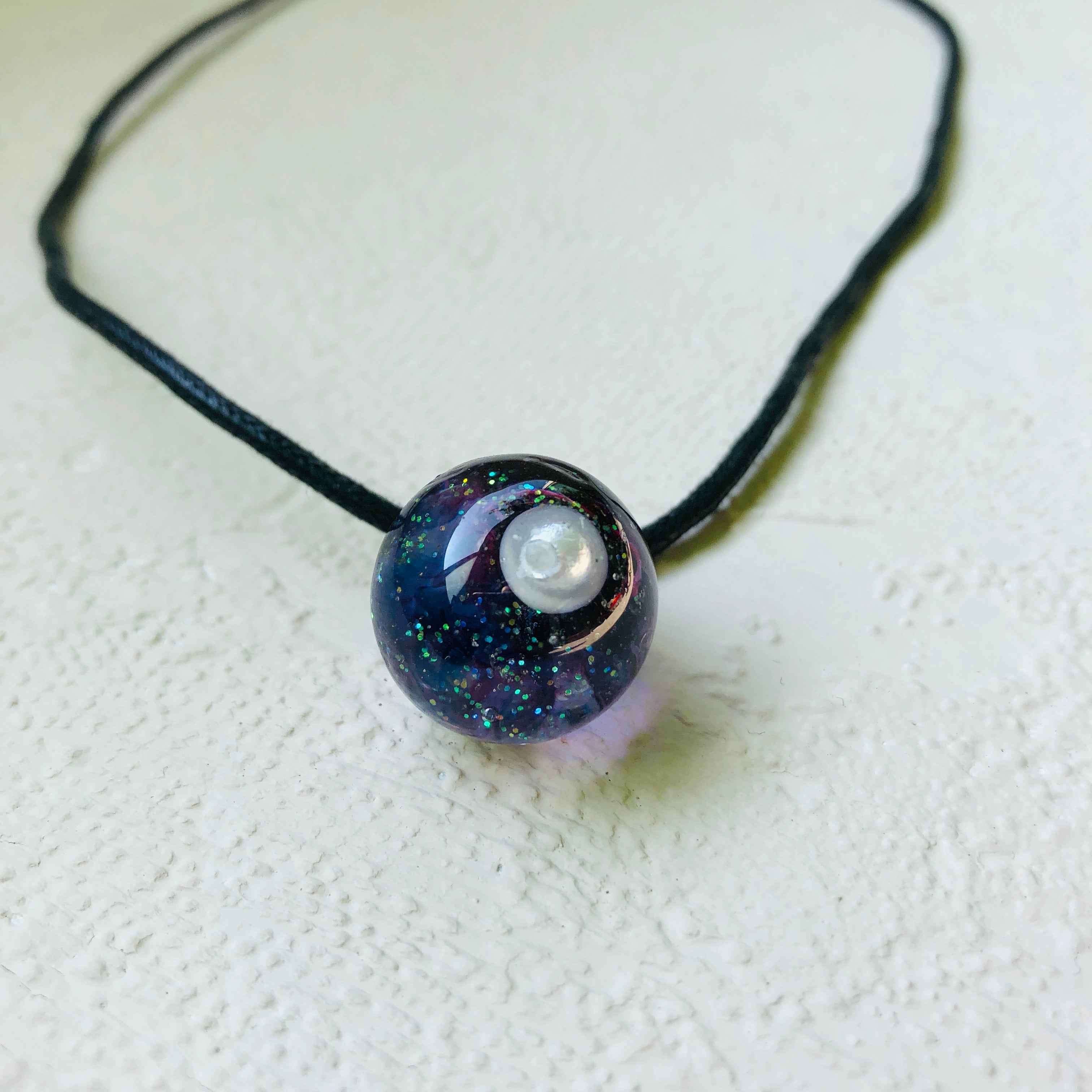 Sphere Space necklace