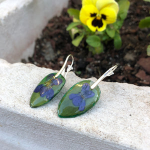 Violets earrings