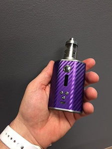Psyclone dna 200 mod wrap skin Purple Carbon Fiber design by Jwraps