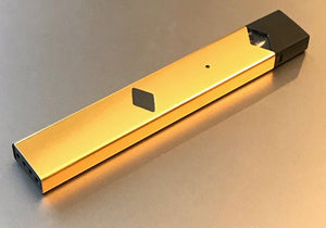 JUUL V1 skin wrap Gold Chrome skin by Jwraps
