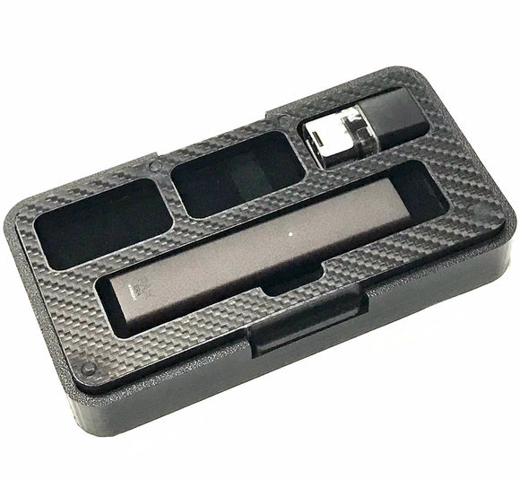 Pax Era black travel 3 Pods case stand by Jwraps