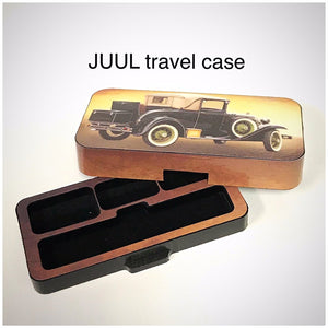 JUUL travel case Antique Car design by Jwraps