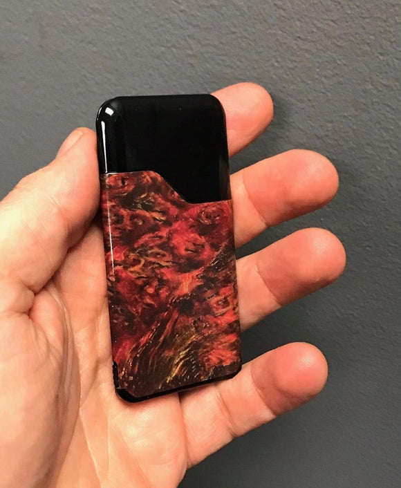 Suorin Air skin wrap Stabilized Wood 6 S362 by JWRAPS