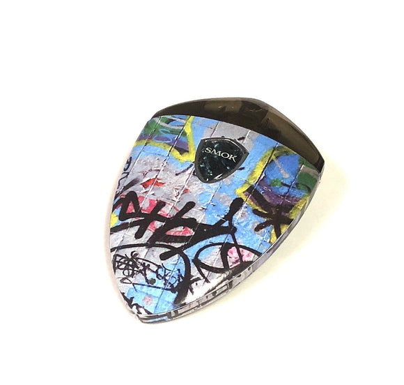 Smok Rolo Badge skin wrap Graffiti skin wrap by Jwraps