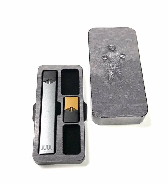 JUUL travel case Concrete Man S329 design by Jwraps