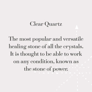 Load image into Gallery viewer, Clear Quartz Power Stone
