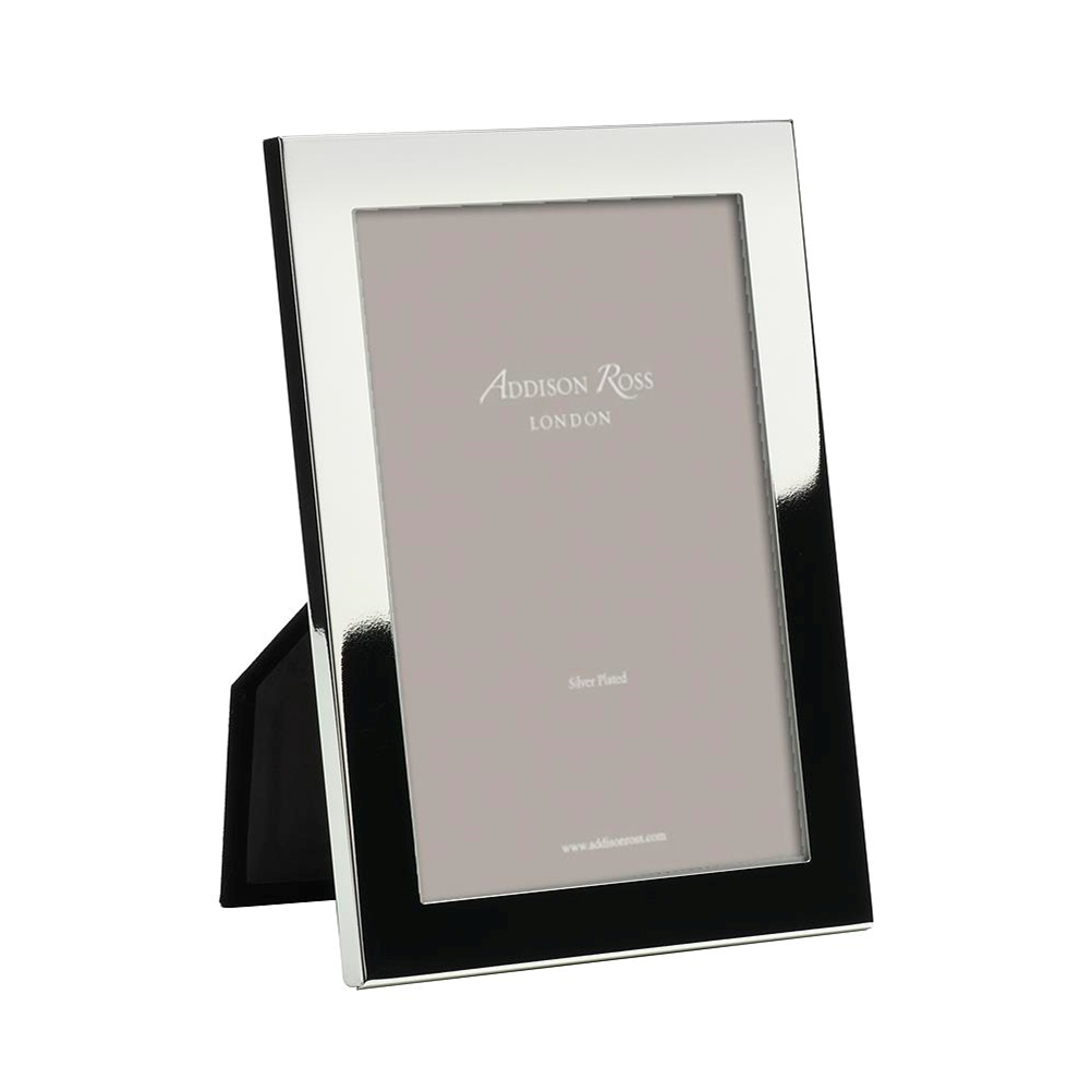 Flat Fronted Silver Plated Photo Frame - Addison Ross