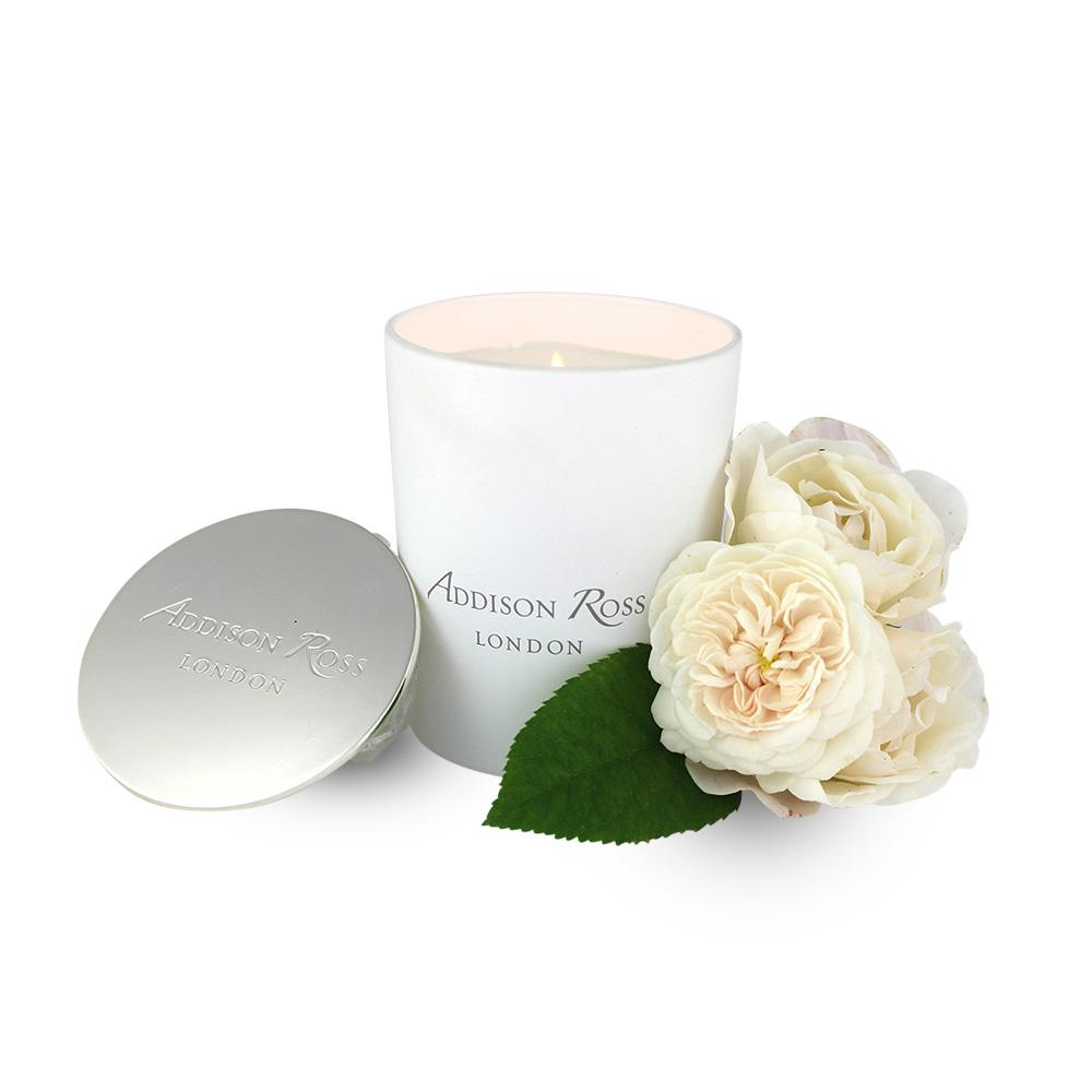 Amalfi White Scented Candle - Addison Ross Ltd UK