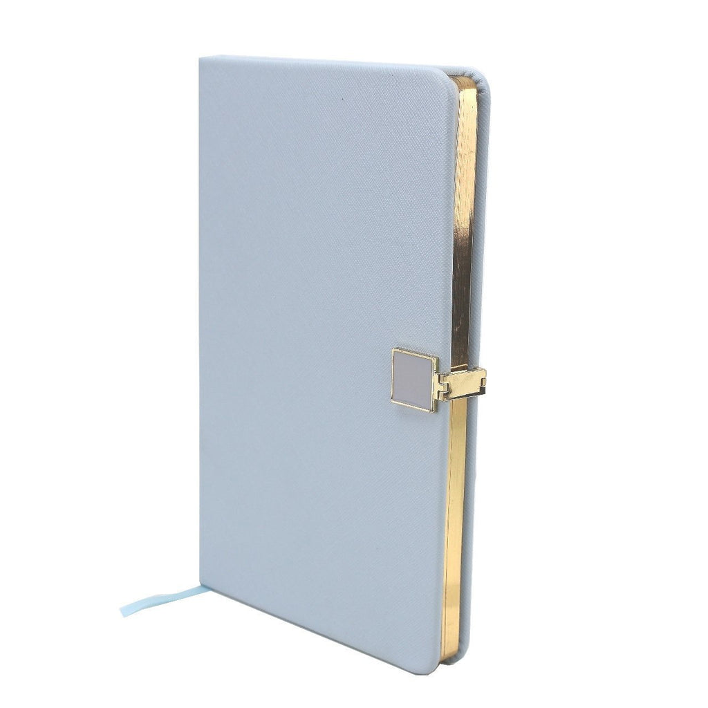 Blue & Gold A5 Notebook - Addison Ross Ltd UK
