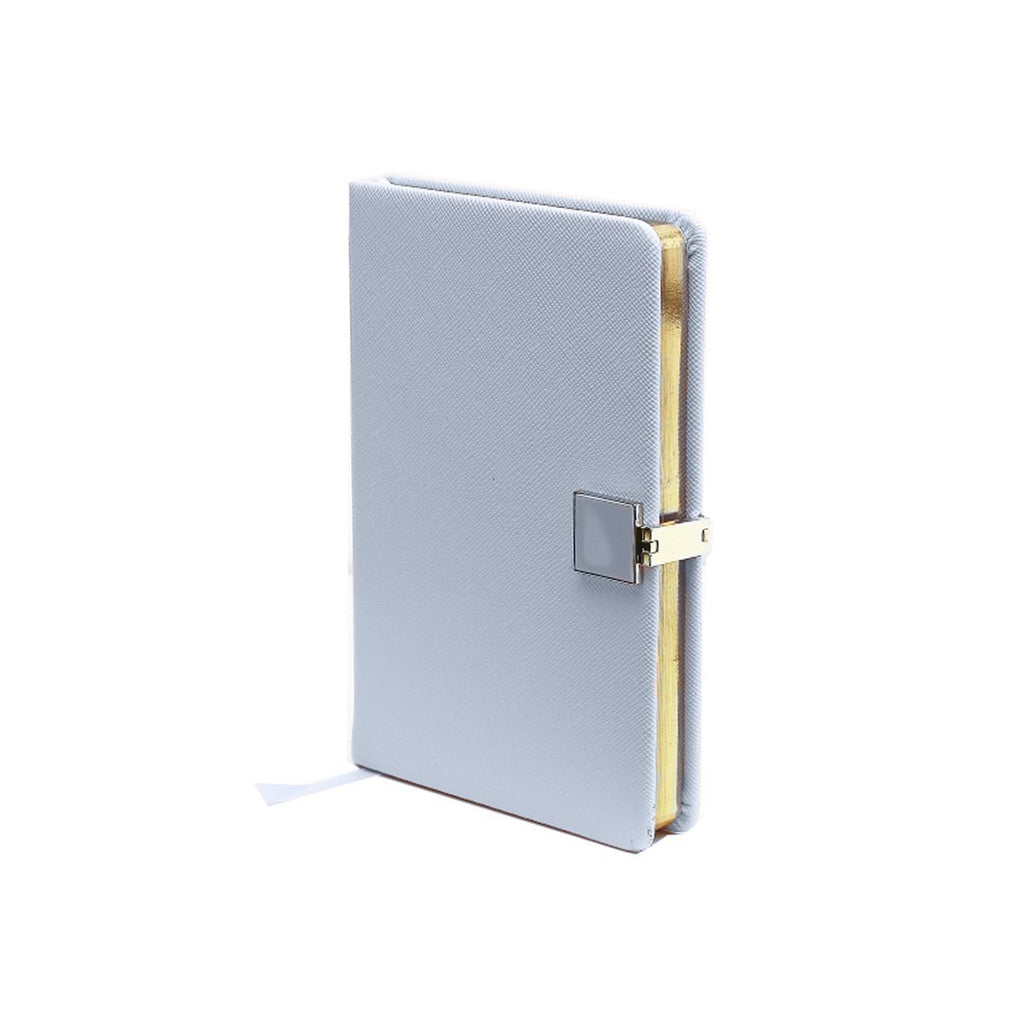 Blue & Gold A6 Notebook - Addison Ross Ltd UK