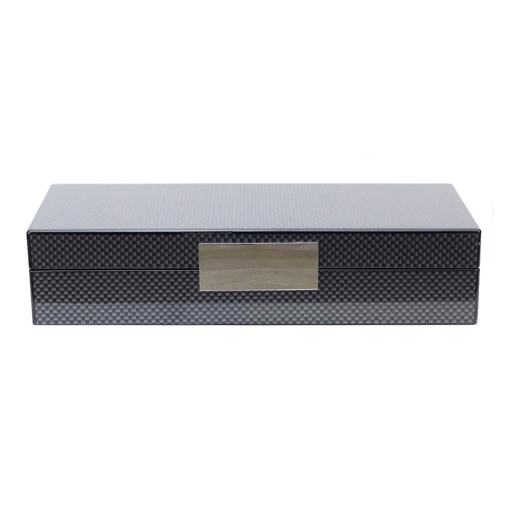 Carbon Fibre Jewellery Box - Addison Ross Ltd UK