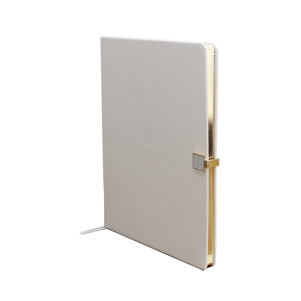 Grey & Gold A5 Notebook - Addison Ross Ltd UK