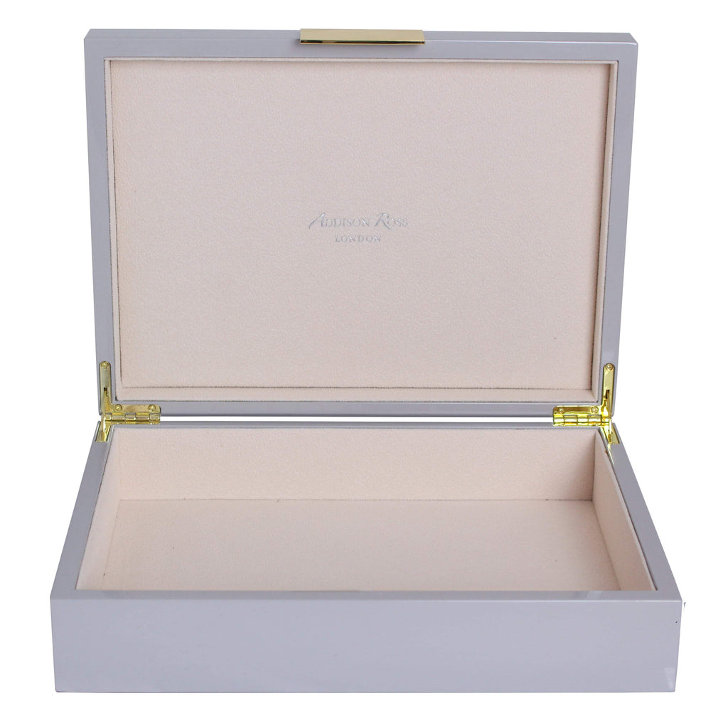 Large Chiffon Lacquer Box With Gold - Addison Ross Ltd UK