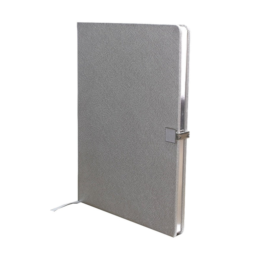 Silver & Silver A4 Notebook - Addison Ross Ltd UK